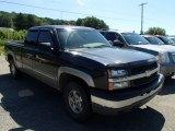 2003 Black Chevrolet Silverado 1500 LS Extended Cab 4x4 #84256805