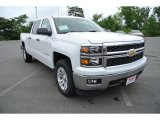 2014 Summit White Chevrolet Silverado 1500 LT Crew Cab #84257111