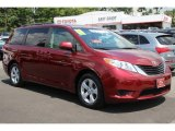 2011 Salsa Red Pearl Toyota Sienna LE #84256782