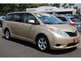2011 Sandy Beach Metallic Toyota Sienna LE #84256779