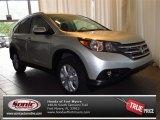 2013 Alabaster Silver Metallic Honda CR-V EX-L #84256574