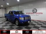 2011 Blue Flame Metallic Ford F150 XLT SuperCab #84256661
