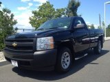 2008 Black Chevrolet Silverado 1500 Work Truck Regular Cab #84257180