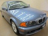 2003 Steel Blue Metallic BMW 3 Series 325i Coupe #84256564