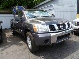 2007 Smoke Gray Nissan Titan SE Crew Cab 4x4 #84257165