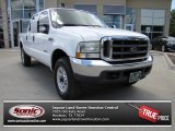 2004 Oxford White Ford F250 Super Duty FX4 Crew Cab 4x4 #84257150