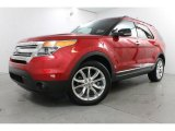 2011 Red Candy Metallic Ford Explorer XLT 4WD #84256511