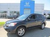 2011 Crystal Black Pearl Honda CR-V EX-L 4WD #84257132