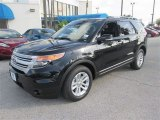 2013 Tuxedo Black Metallic Ford Explorer XLT #84312301