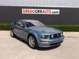 2005 Windveil Blue Metallic Ford Mustang GT Premium Coupe #84312565