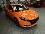 2013 Header Orange Dodge Dart SXT #84312825