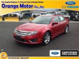 2011 Red Candy Metallic Ford Fusion Sport #84312468
