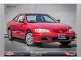 2002 San Marino Red Honda Accord EX V6 Coupe #84312177