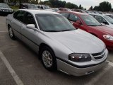2001 Galaxy Silver Metallic Chevrolet Impala  #84312795