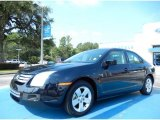 2008 Dark Blue Ink Metallic Ford Fusion SE #84312352