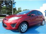 2013 Ruby Red Ford Fiesta SE Hatchback #84312337