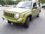 2012 Rescue Green Metallic Jeep Patriot Latitude #84312150