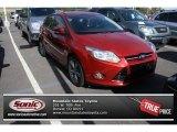 2012 Red Candy Metallic Ford Focus SE Sport 5-Door #84312148