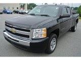 2010 Black Chevrolet Silverado 1500 LT Extended Cab #84312678
