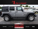 2013 Billet Silver Metallic Jeep Wrangler Unlimited Sport S 4x4 #84312226