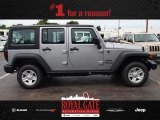 2013 Billet Silver Metallic Jeep Wrangler Unlimited Sport 4x4 #84312225