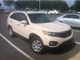 2011 White Sand Beige Kia Sorento LX #84312601