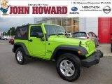 2012 Gecko Green Jeep Wrangler Sport S 4x4 #84358133