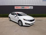 2013 Snow White Pearl Kia Optima LX #84358048