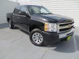 2011 Black Granite Metallic Chevrolet Silverado 1500 LS Crew Cab #84357960