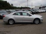 2013 Silver Ice Metallic Chevrolet Malibu LS #84357875