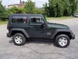 2010 Natural Green Pearl Jeep Wrangler Sport 4x4 #84357787
