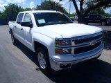 2014 Summit White Chevrolet Silverado 1500 LT Crew Cab #84358298