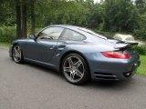 2008 Porsche 911 Baltic Blue Metallic Paint to Sample