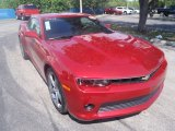 2014 Crystal Red Tintcoat Chevrolet Camaro SS/RS Coupe #84358294