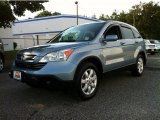 2008 Glacier Blue Metallic Honda CR-V EX-L 4WD #84358288