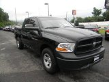 2012 Black Dodge Ram 1500 ST Crew Cab 4x4 #84358024