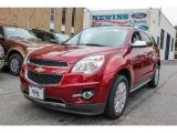 2010 Cardinal Red Metallic Chevrolet Equinox LTZ AWD #84358192