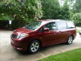 2011 Salsa Red Pearl Toyota Sienna LE #84358104