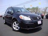 2007 Black Onyx Pearl Suzuki SX4 Convenience AWD #84358095