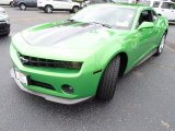 2010 Synergy Green Metallic Chevrolet Camaro LT Coupe Synergy Special Edition #84357660