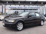 2002 Jet Black BMW 3 Series 325xi Sedan #84404434