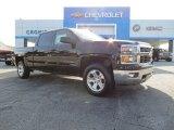 2014 Black Chevrolet Silverado 1500 LT Z71 Crew Cab 4x4 #84404173