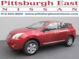 2012 Cayenne Red Nissan Rogue S AWD #84404255