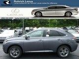 2013 Nebula Gray Pearl Lexus RX 450h AWD #84404079