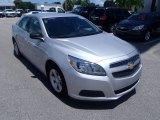 2013 Silver Ice Metallic Chevrolet Malibu LS #84404508