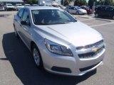 2013 Silver Ice Metallic Chevrolet Malibu LS #84404507