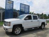2014 Summit White Chevrolet Silverado 1500 LT Crew Cab 4x4 #84403983