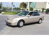 2002 Honda Accord LX Sedan Front 3/4 View