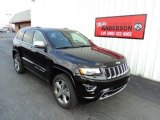 2014 Brilliant Black Crystal Pearl Jeep Grand Cherokee Overland 4x4 #84404485