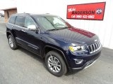 2014 True Blue Pearl Jeep Grand Cherokee Limited 4x4 #84404484